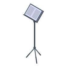 Musical Note Stand Icon. Isome...