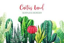 Seamless Border Composed Of Wa...