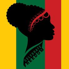 Afro-american Woman In Traditi...