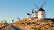 Windmills of Consuegra, Toledo, Spain