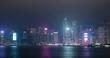 Victoria Harbor, Hong Kong 08 March 2020: Hong Kong city
