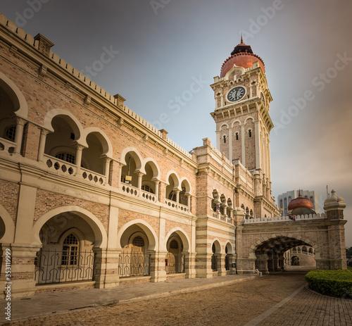 Photo Sultan Abdul Samad Building at Merdeka square, Kuala Lumpur, Malaysia
