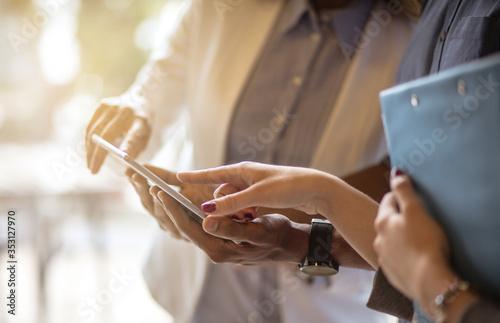 Fototapeta We want everything to learn about business. obraz na płótnie