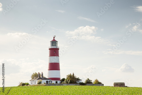 Slika na platnu Happisburgh lighthouse in Norfolks