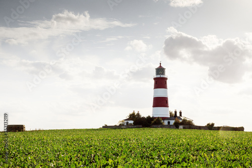 Happisburgh lighthouse in Norfolks Fototapet