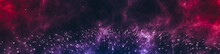 Star Cluster Horizontal Backgr...