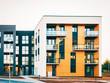 Apartment EU residential home facade architecture with outdoor facility_4x3