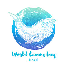 World Oceans Day Graphics With...