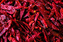 Dried Dry Red Spicy Chili Pepp...