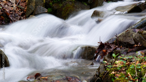 Fototapeta magiczny górski strumień obraz