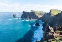 View Of Eastern Rocky Peninsula At Ponta De São Lourenço