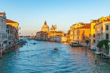 ベネチア本島の風景