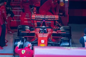 formula one racing circuit in spain