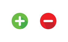 Plus And Minus Icon Vector Dow...