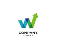 Creative Modern Letter W Logo ...