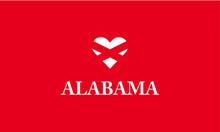 Alabama Heart Love Symbol U.S....