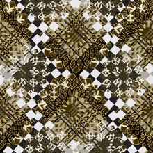 Seamless Pattern Mixed Design....