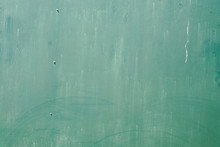 Green Background Of Used Old M...
