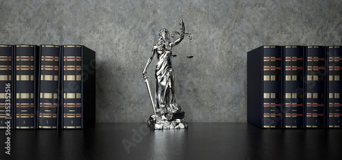 Obraz Lady Justice Statue - fototapety do salonu