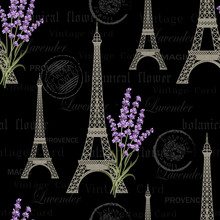Seamless Floral Pattern With E...
