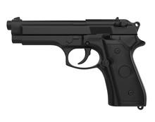 Handgun Pistol Isolated