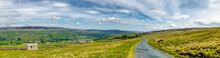 A Panorama Of Hills Of The Yor...