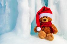 Christmas Bear In A Santa Clau...