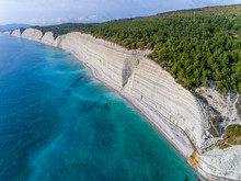 Steep Cliffs Of The Black Sea ...