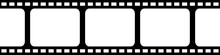 Film Strip Seamless Background...
