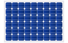 Blue Silicon Photovoltaic Electric Solar Panel Texture Detailed Vector Illustration