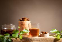 Healing Beverage From Birch Mu...