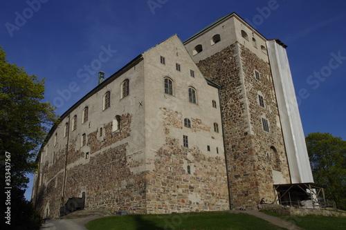 Obraz na plátně Turun linna, Burg Turku, Turku in Finnland