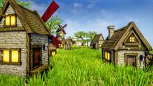 3D Render - A Rural Village Fu...
