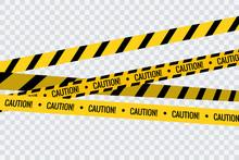 Caution Tape Stripe Danger Lin...