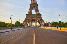 Scenic View Of Eiffel Tower Ov...