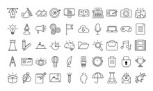 Bundle Of Designer Set Icons