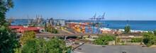 Container Terminal Of Cargo Po...