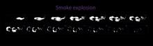 Smoke Explosion Effect. Smoke ...