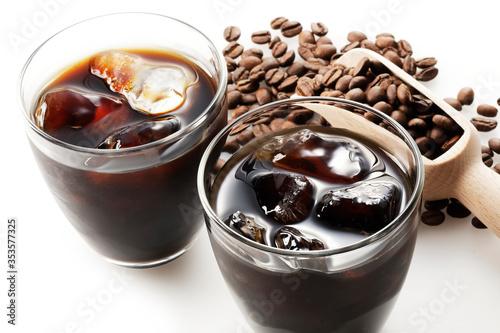 Fototapeta アイスコーヒー Iced coffee obraz