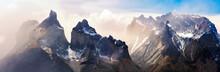 A Panorama Of Los Cuernos Rang...