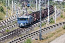 German Train Transporting Brow...