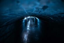 Castle Tunnel View, Gloomy Und...