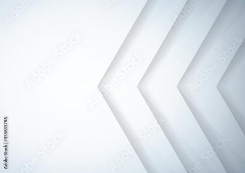 Fototapeta Abstract gray geometric background