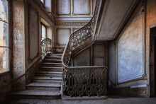 Old Wooden Staircase