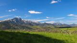 góry , giewont w maju
