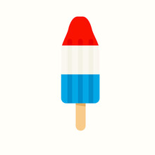 4th July Rocket Popsicle Icon....