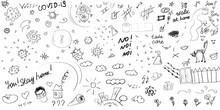 Vector Hand Drawn Doodle Set A...