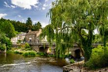 Picturesque Town Bridge La Gac...