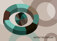 Abstract Vector Background. Vo...