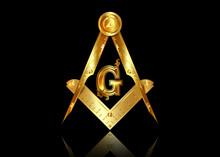 Gold Freemasonry Emblem - The ...